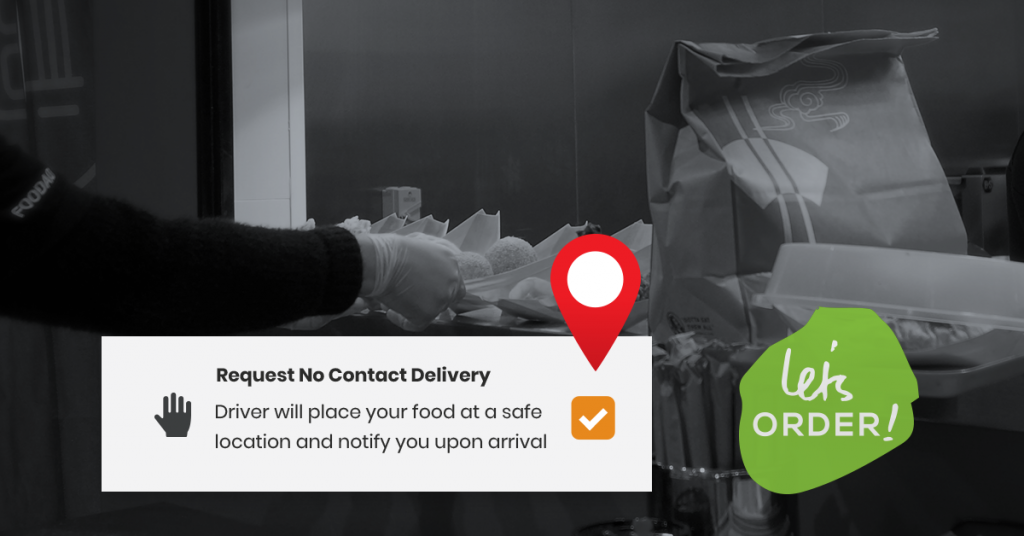Let's Order Facilitating No Contact Delivery