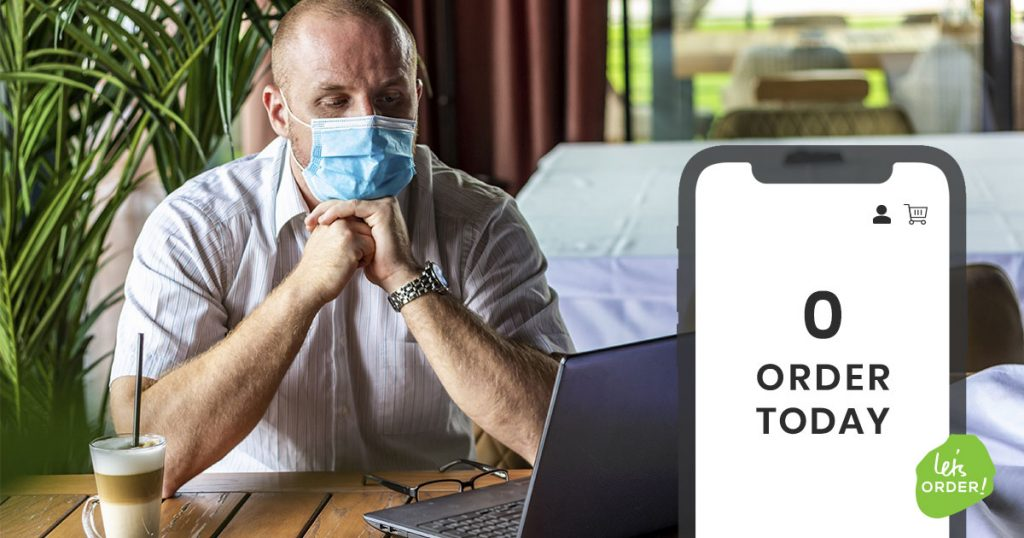 Restaurant cafe manager navigating coronavirus pandemic Melbourne Victoria Australia